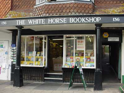 White Horse Book shop, Marlborough