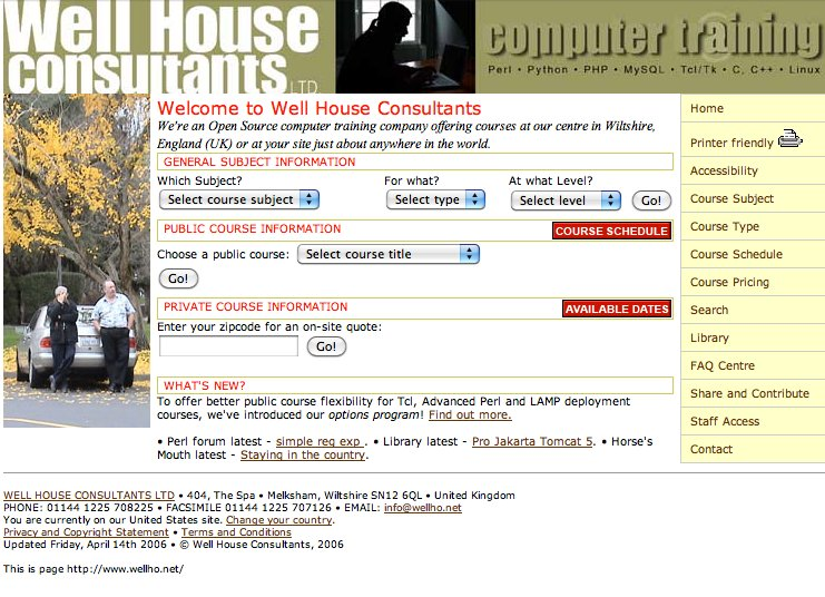 Home Page, 2006