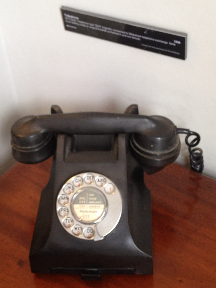 Some of us still remember using the old telephones
