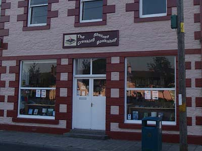 A bookshop in Wigtown