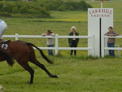 Missed the winner again, Larkhill