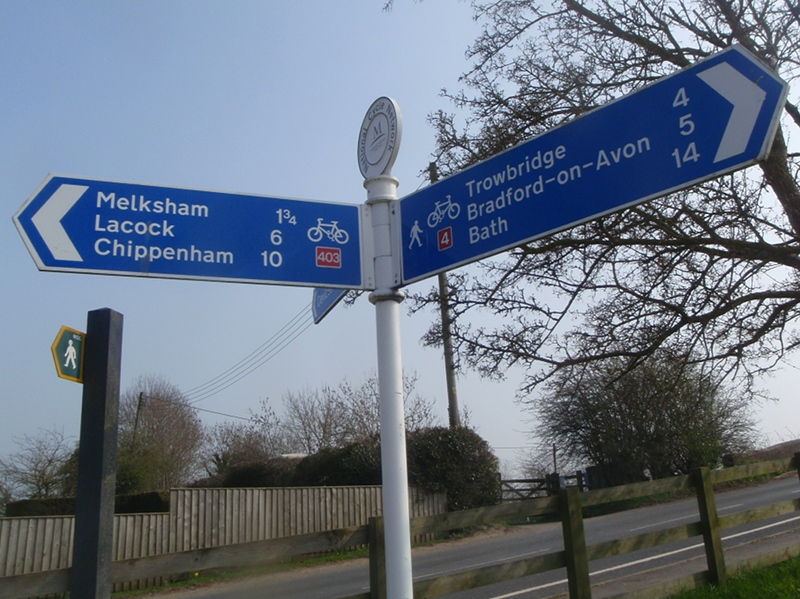 A 6 mile walk from Melksham to Trowbridge