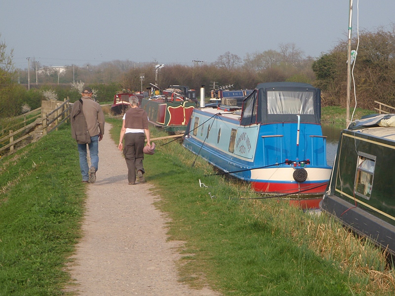 Boats at Semington Aquaduct