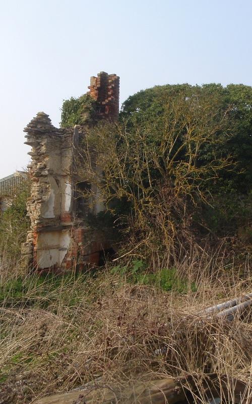 Whaddon - ruined House