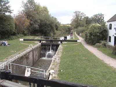 Wootton Rivers Lock