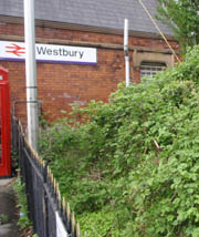 The Warminster local at Westbury
