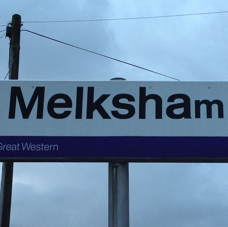 at Melksham Station