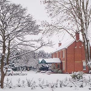 The Snow at Well House Manor