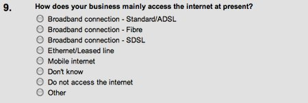 Will people understand ADSL v SDSL?
