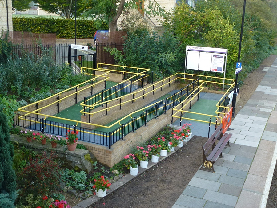 Disabled / Wheelchair access ramp