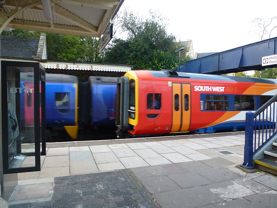South West Trains and First Great Western meet