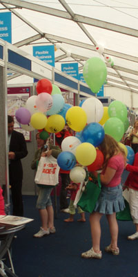 West Wilts Show - balloons