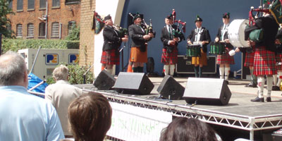Scots on stage in Trowbridge
