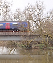 TransWilts train between Trowbridge and Melksham