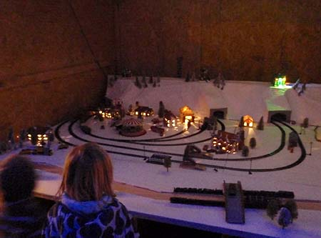 Model Railway outside