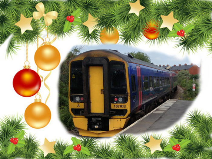Happy Christmas from Melksham Station