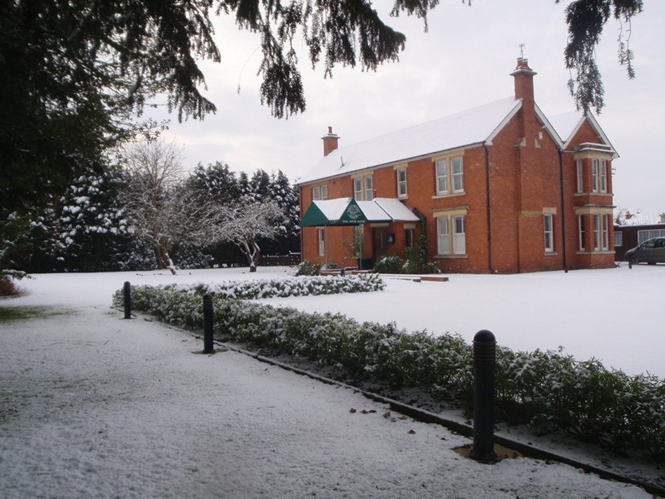 Well House Manor in Winter