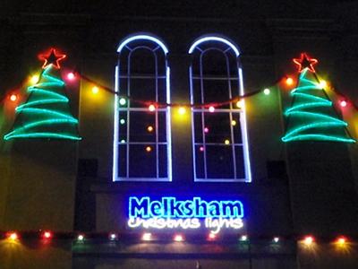 Melksham Chrismas lights, 2010