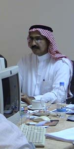 Open Source trainee, course in Saudi Arabia
