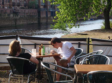 A drink beside the river, York