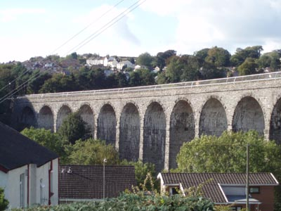 Old Railway viaduct, Ystrad Mynach