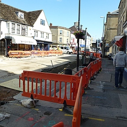 High Street Road Works