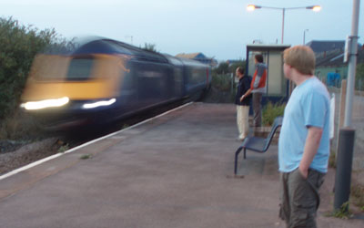 HS125 zooms through Melksham